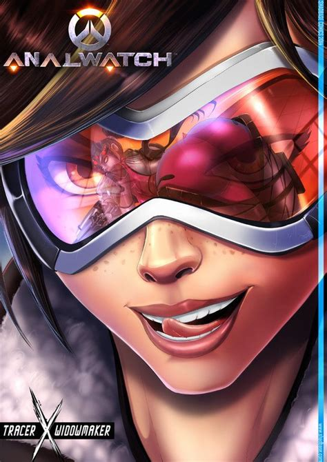 10 sexy fan art featuring tracer from overwatch nsfw