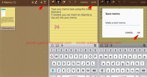 how to create a text on android samsung galaxy s4 how to create a text memo using s memo