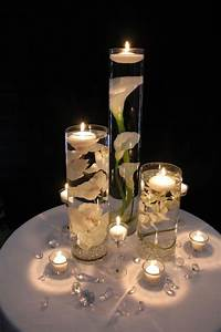 centerpieces with candles DIY Floating Candle Centerpieces Tutorial   BeesDIY.com