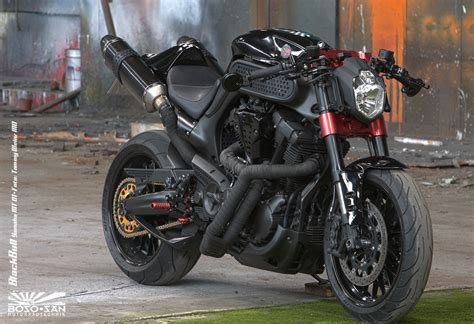 Yamaha Mt-01 Black Bull