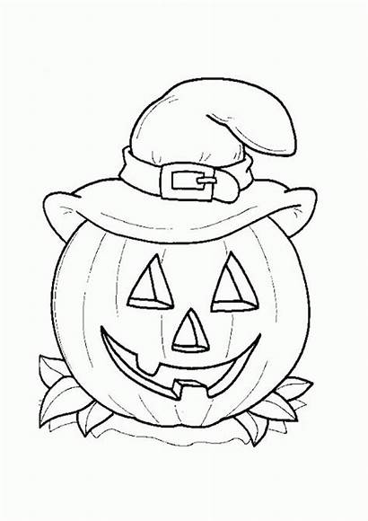 Pumpkin Coloring Pages Drawing Preschoolers Forget Supplies