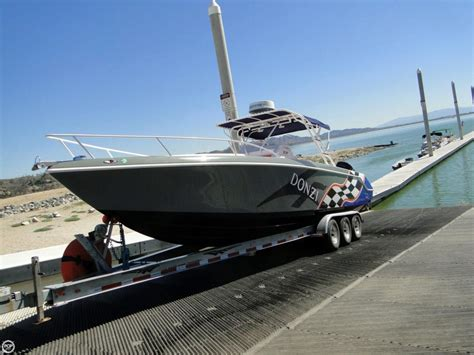 Donzi Zfc Boats For Sale by 2004 Used Donzi 35 Zfc Center Console Fishing Boat For