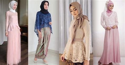 tips memilih model kebaya muslim   tubuh pendek ohayo