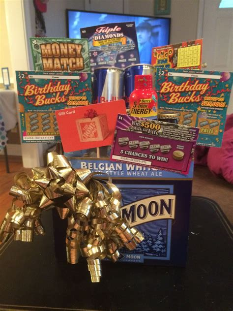 diy birthday beer gift basket   surprise gifts