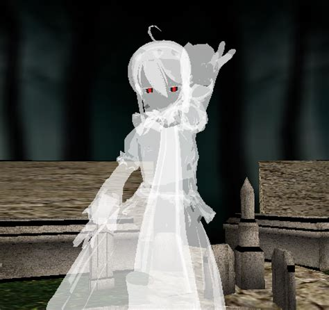 mmd ghost haku  sophie arachnida  deviantart
