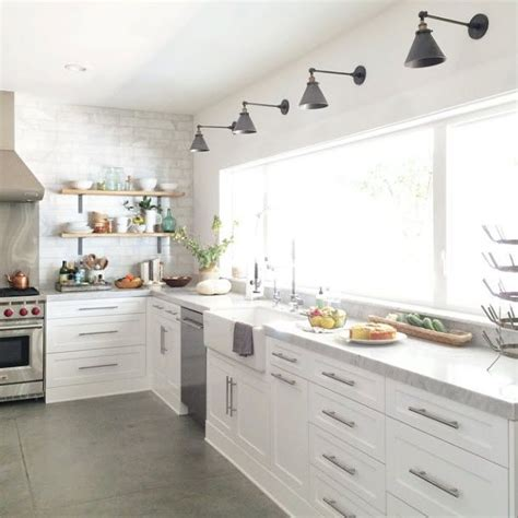 wall mounted kitchen lighting