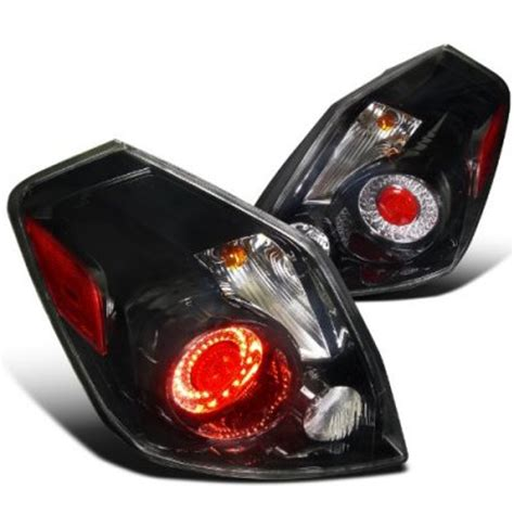 nissan altima sedan   led tail lights black