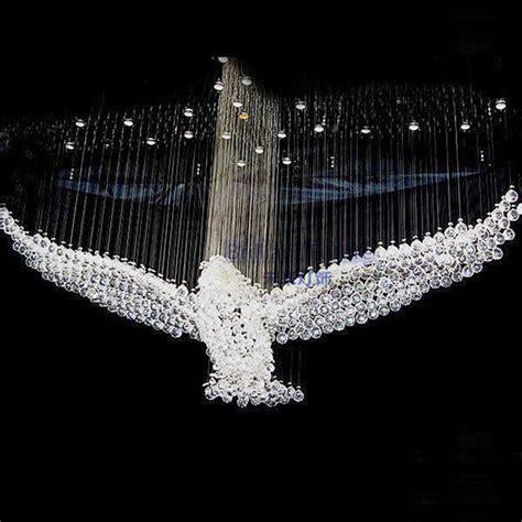 Modern Eagles Design Luxury Led Crystal Chandelier