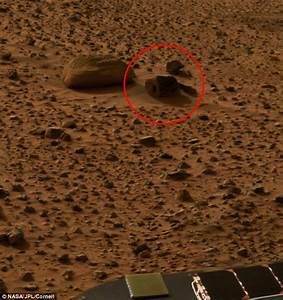 UFO hunters claim photos from Nasa's Spirit rover 'are ...