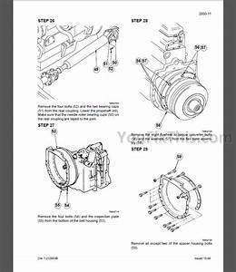 Case 595sle 595lsp Repair Manual Set  Loader Backhoe