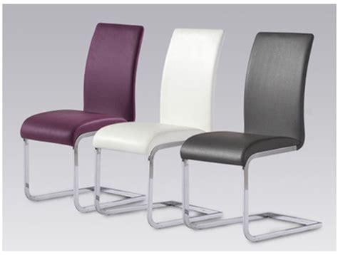 chaise cuir blanc chaise simili cuir blanc images