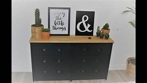 Repeindre Meuble Ikea : transformer un meuble ikea en meuble industriel youtube ~ Melissatoandfro.com Idées de Décoration