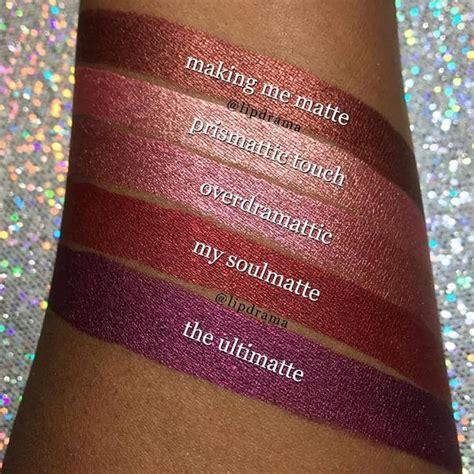 milani cosmetics amore matte metallic lip creme making