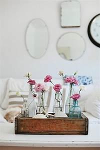 Objet Vintage Deco : les fleurs comme un objet deco vintage style ~ Teatrodelosmanantiales.com Idées de Décoration