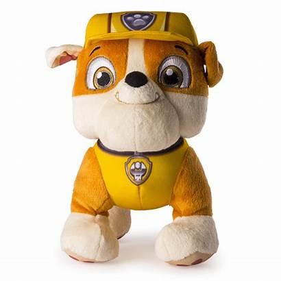 Rubble Plush Paw Patrol Basic Toys Toy