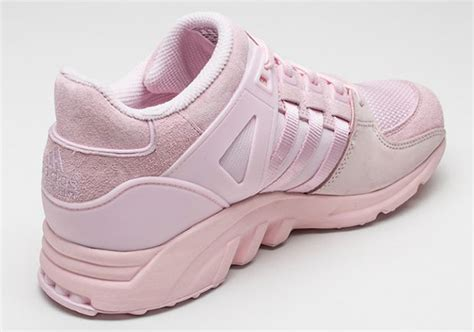 all light pink adidas the adidas eqt support goes all pink sneakernews com