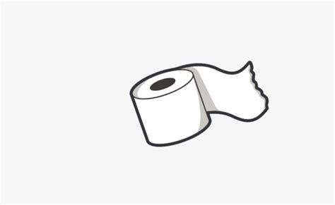 White Cartoon Toilet Paper Roll Rollos Papel Higiénico