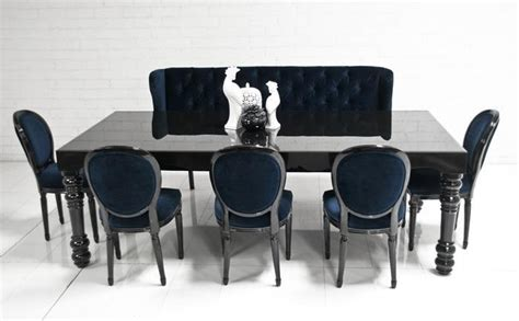 Esstisch Schwarz Hochglanz by 20 Inspirations Black Gloss Dining Room Furniture Dining
