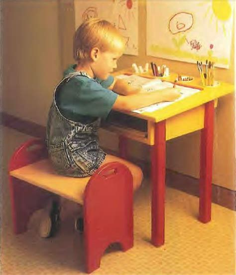childs desk  bench plans woodwork city