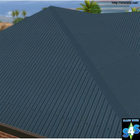 colorbond corrugated iron roof  simista sims  updates