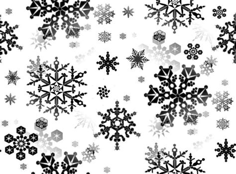 Snowflake Background Black And White black snowflakes seamless background repeating fill
