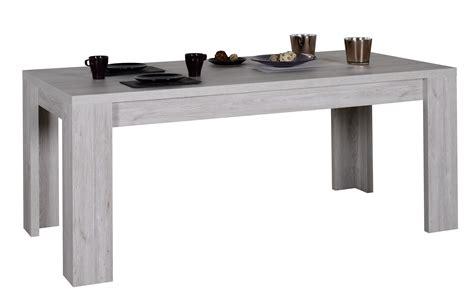 table  manger  rallonges chene gris maeva   cm