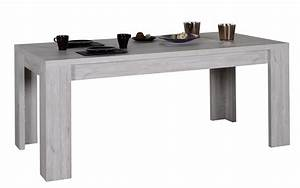 Table Chene Gris : table manger rallonges ch ne gris maeva 180 260 cm ~ Teatrodelosmanantiales.com Idées de Décoration