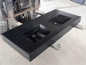 plan vasque de salle de bain en granit sur mesure With vasque salle de bain sur mesure