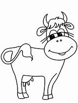 Cow Coloring Pages Cows Milk Calm Creative Lot Painting Know sketch template