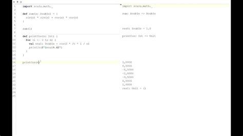 scala worksheet in intellij idea instant evaluation youtube