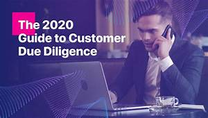 The 2020 Guide To Customer Due Diligence