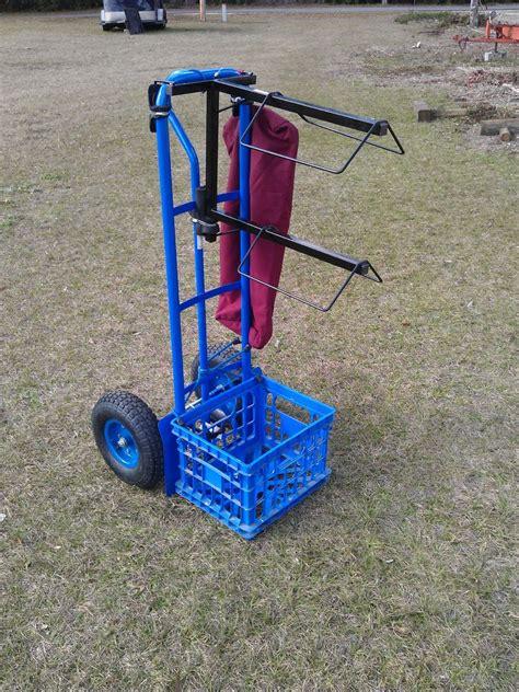 rolling saddle rack cart  steps
