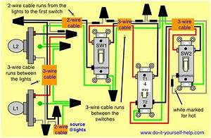 Wiring Diagram 4 Way Switch Multiple Lights