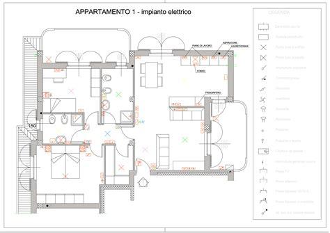 Disegno Impianto Elettrico Appartamento by Impianti Elettrici Schemi Cheap Impianto Elettrico