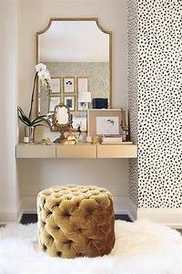 Black, White, And, Gold, Color, Scheme, Interiors, 24, Photos