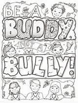 Coloring Bully Buddy Sheet Teacherspayteachers Ms Credit Larger sketch template