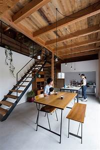 Contemporary House In Japan Mimics The Appeal Of A Renovated Warehouse