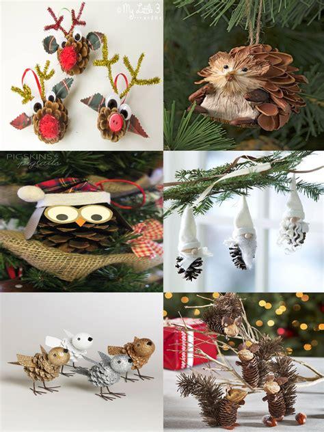 40 Easy And Cute Diy Pine Cone Christmas Crafts Mocochoco