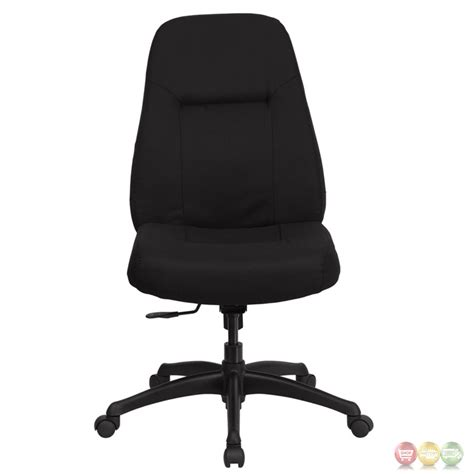 hercules high back big black fabric swivel office