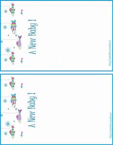 5 best images of printable personalized baby birth for Baby birth announcements templates for free