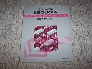 2007 Toyota Sequoia Electrical Wiring Diagram Manual Sr5