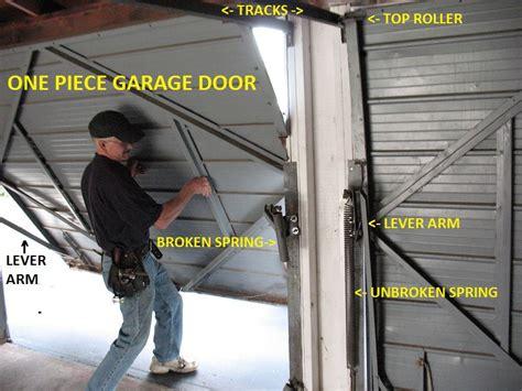 piece garage door extension springs