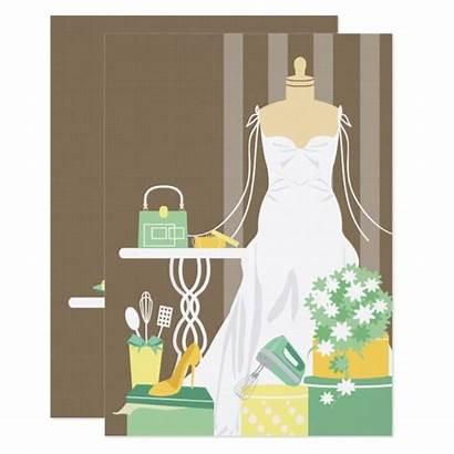 Zazzle Shower Bridal Invitation Own Invitations