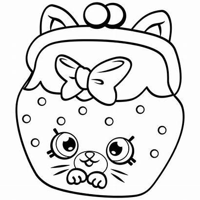 Shopkins Coloring Pages Petkins Season Cat Snout