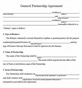 business partnership agreement 9 download documents in With rto partnership agreement template