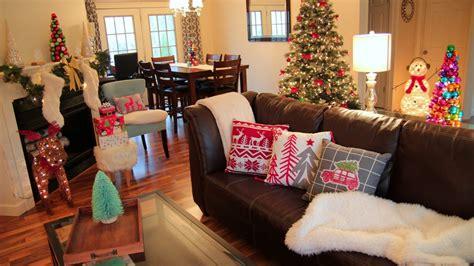 decorating  christmas christmas living room  youtube