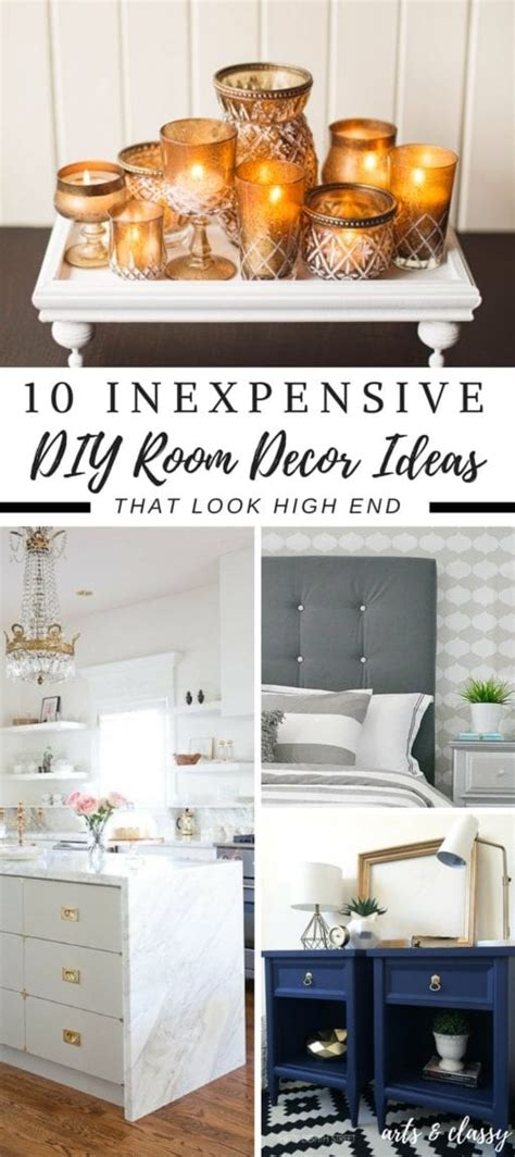 inexpensive diy room decor ideas   easily