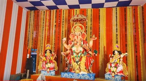Ganesh Chaturthi 2020: Here Is 9-Feet Tall Dhanvantari ...