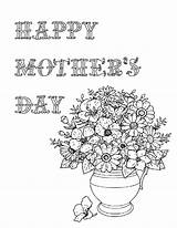 Coloring Printable Pages Mother Mothers Sheets Printables Mom Pdf Thehousewifemodern Happy Flower Designs Give Books sketch template