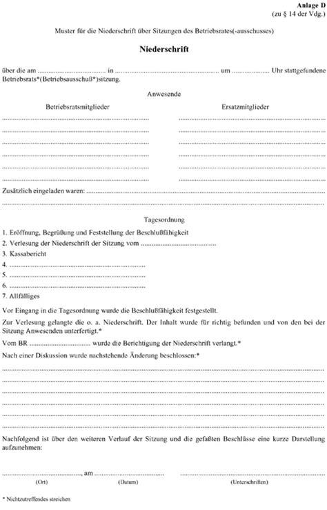 betriebsrat protokoll vorlage kundenbefragung fragebogen